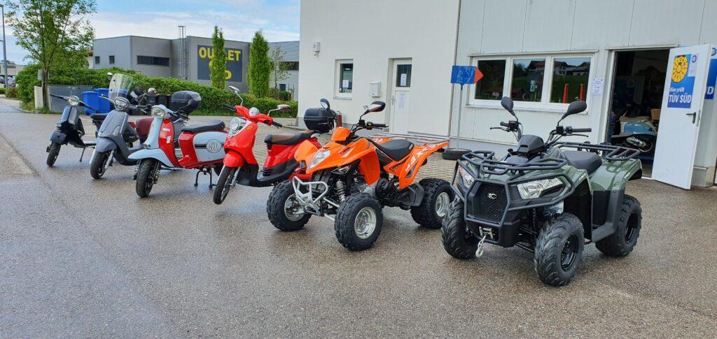 Roller und Quad bei Fa.Deinlein in 83404 Hammerau