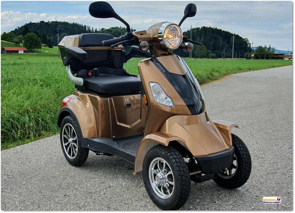 Lecson E Quad Elektromobil bei Deinlein Motorroller Hammerau