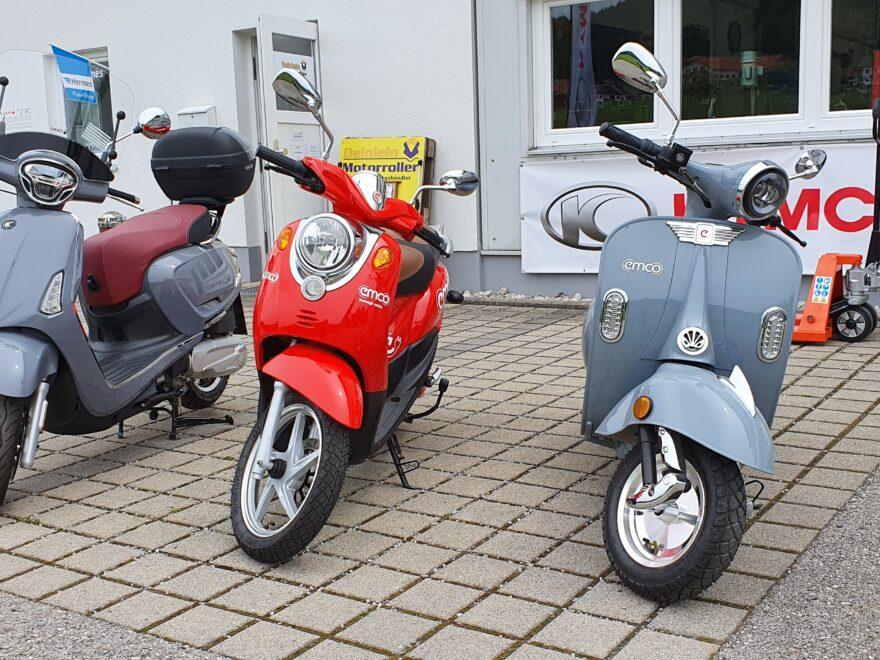 50er Vespa Benzin und Elektrisch