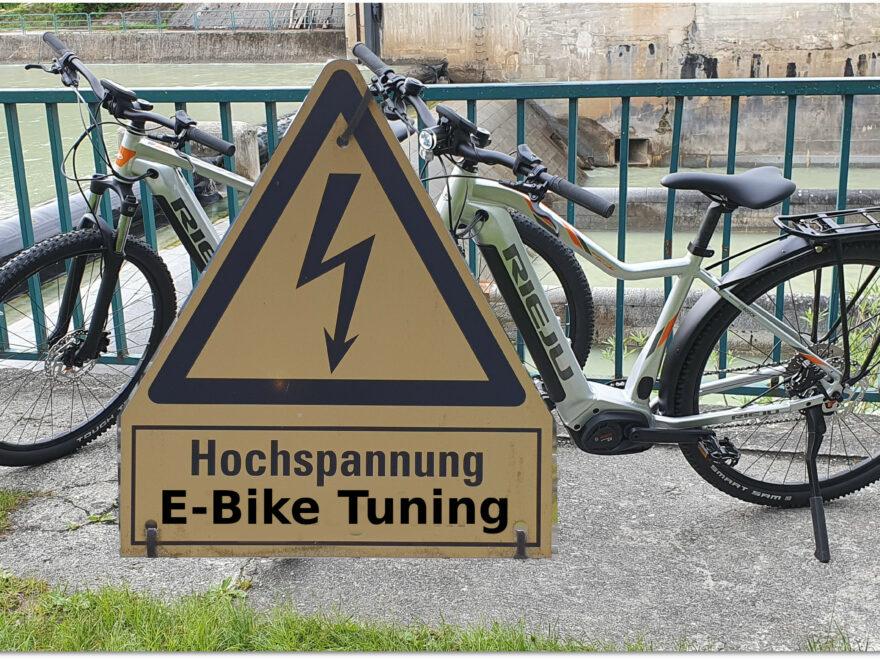Hochspannung E-Bike Tuning